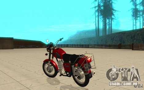 IZH Planeta 5 para GTA San Andreas traseira esquerda vista