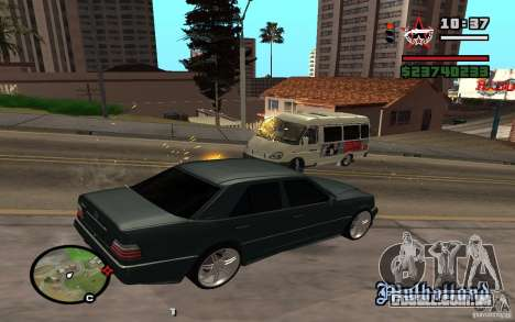 Atirar do carro no GTA 4 para GTA San Andreas