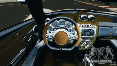 Pagani Huayra 2011 v1.0 [RIV] para GTA 4 motor