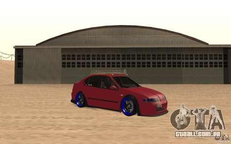 Seat Toledo 1999 Tuned para GTA San Andreas esquerda vista