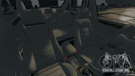 Audi RS6 2003 para GTA 4 vista interior