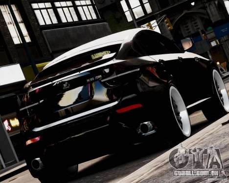 BMW X6 Tuning v1.0 para GTA 4 esquerda vista