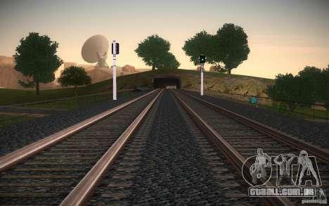 Trilhos de HD v 2.0 Final para GTA San Andreas sexta tela