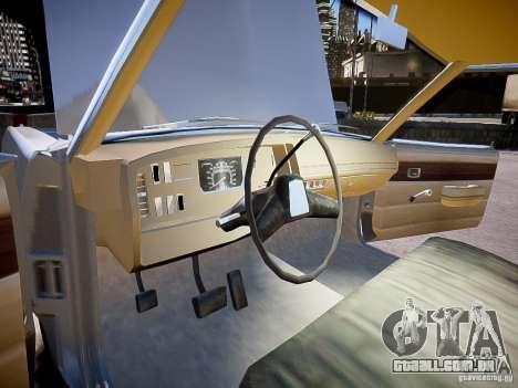 Dodge Dart 1975 para GTA 4 vista de volta