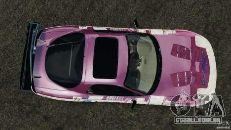 Mazda RX-7 EXEDY D1 para GTA 4 vista direita
