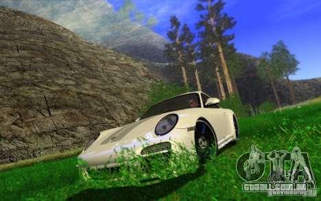 Awesome HD Graphic ENB Setts para GTA San Andreas por diante tela
