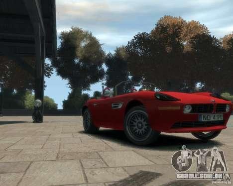 BMW Z8 para GTA 4 esquerda vista