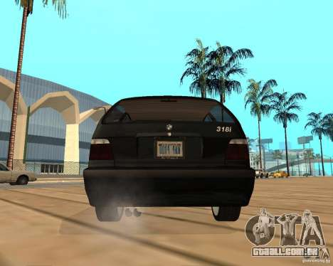 BMW 318i Touring para GTA San Andreas vista interior