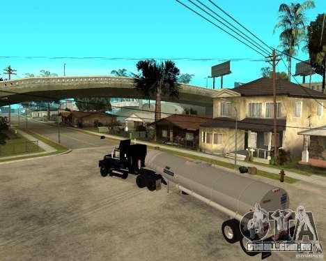 Rubber Duck Mack para GTA San Andreas esquerda vista
