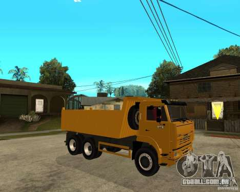 KAMAZ 6520 TAI para GTA San Andreas vista direita