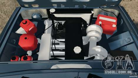 Vaz-2104 Tuning para GTA 4 vista superior