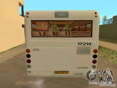 SULCO 3237 para GTA San Andreas vista interior
