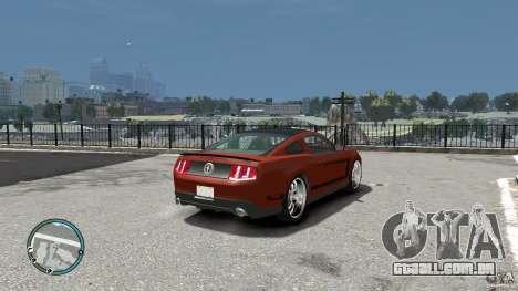 Ford Mustang Boss 302 2012 para GTA 4 vista direita