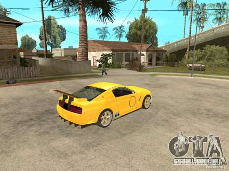 Ford Mustang GT-R para GTA San Andreas vista direita