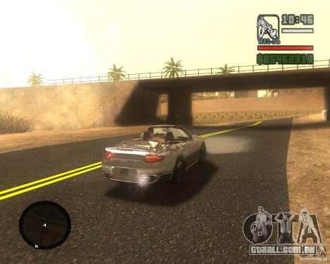Real palms v2.0 para GTA San Andreas por diante tela