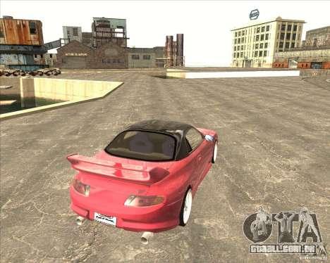 Mitsubishi FTO VeilSide para GTA San Andreas vista direita