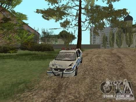 Polícia de GTA 4 para GTA San Andreas vista interior