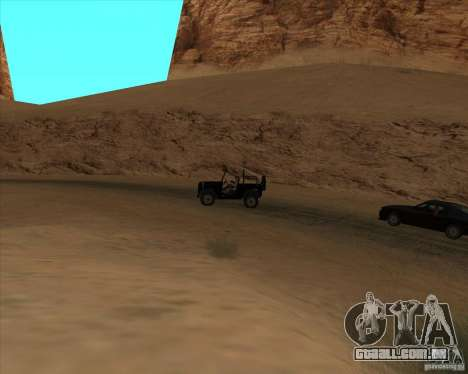 Cowboy duelo v 2.0 para GTA San Andreas segunda tela