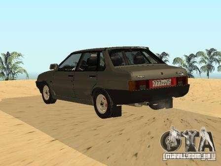 VAZ verão 21099 para GTA San Andreas esquerda vista