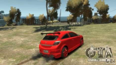 Opel Astra para GTA 4 esquerda vista