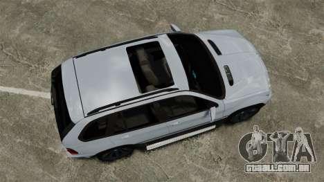 BMW X5 4.8IS BAKU para GTA 4 vista direita
