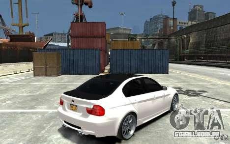 BMW 330i E60 Tuned 1 para GTA 4 vista direita