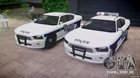 FIB Buffalo NYPD Police para GTA 4 vista inferior