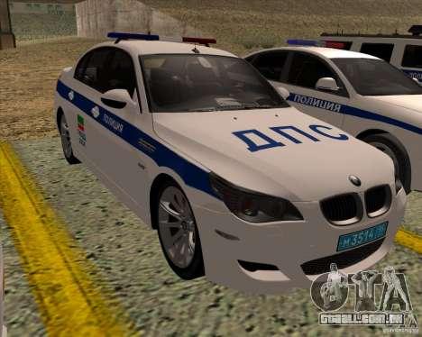 BMW M5 E60 DPS para GTA San Andreas
