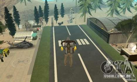 New CJs Airport para GTA San Andreas segunda tela
