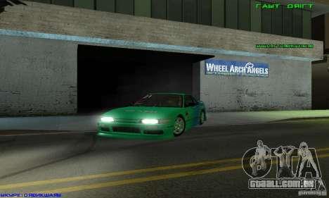 Nissan Silvia S13 Tunable para vista lateral GTA San Andreas