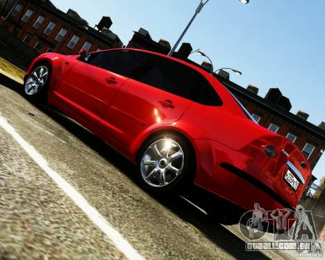 Ford Focus 2008 para GTA 4 esquerda vista