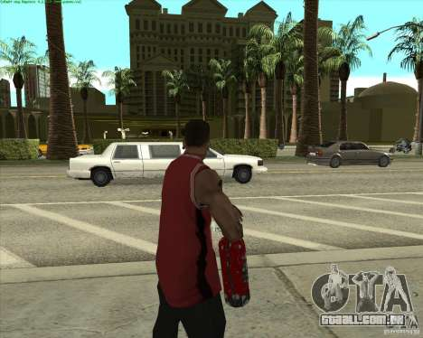 Blood Weapons Pack para GTA San Andreas segunda tela