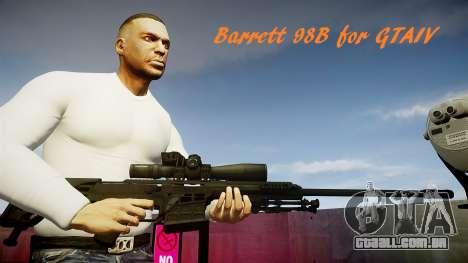 Barret 98B (sniper) para GTA 4