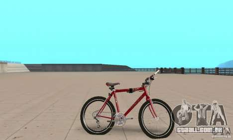 Chongs Mountain Bike para GTA San Andreas traseira esquerda vista