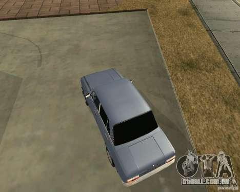 Kopeyka (corrigido) para GTA San Andreas esquerda vista