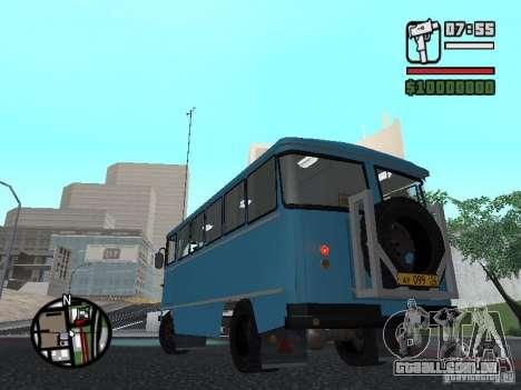 Chernigov SYD-03 para GTA San Andreas vista traseira