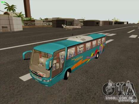 Mercedes-Benz Vissta Buss LO para GTA San Andreas vista interior