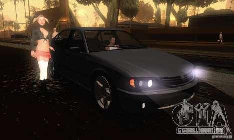 GTA IV Merit para GTA San Andreas vista traseira