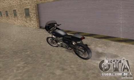 Kawasaki KZ1000 para GTA San Andreas vista traseira