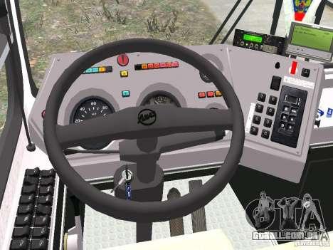 LIAZ 5256.25 para GTA 4 vista de volta
