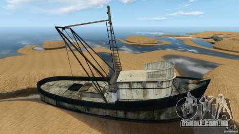 Deserto de Gobi para GTA 4 quinto tela