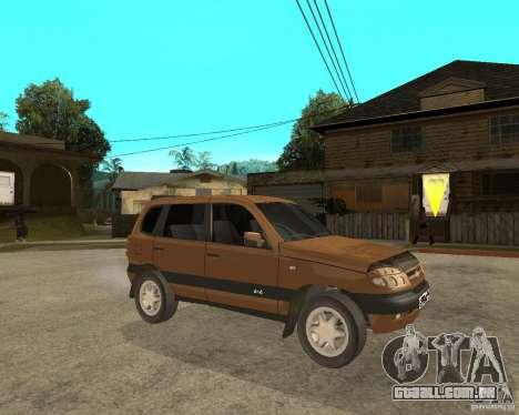 CHEVROLET NIVA Version 2.0 para GTA San Andreas vista direita