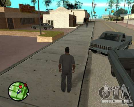 Police On Radar para GTA San Andreas