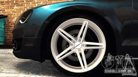 Audi A8 2010 para GTA 4 esquerda vista