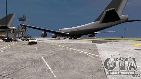 Lufthansa MOD para GTA 4 esquerda vista