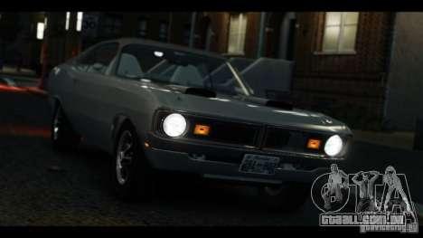 Dodge Demon 1971 para GTA 4 vista direita