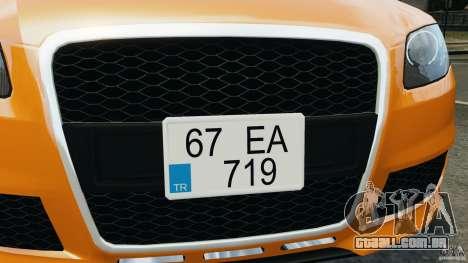 Audi RS4 EmreAKIN Edition para GTA 4 motor