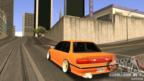 Honda Civic EF9 Sedan para GTA San Andreas traseira esquerda vista