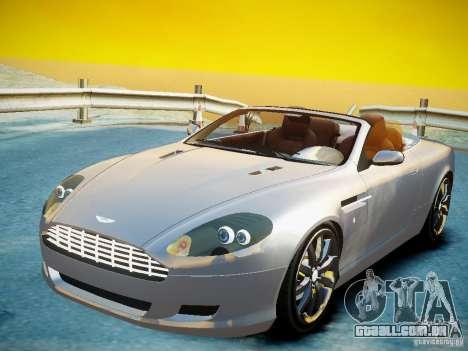 Aston Martin DB9 Volante v2.0 para GTA 4 traseira esquerda vista