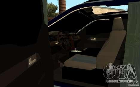 Ford Velociraptor para GTA San Andreas traseira esquerda vista